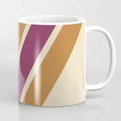Retro Vintage Stripes - Autumn Color Coffee Mug