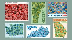 Posters by Draplin