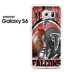 Atlanta Falcons Logo Helmet Samsung Galaxy S6 Case