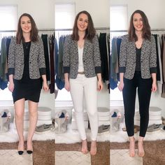 Spring/Summer Business Casual Capsule Wardrobe Outfits - Dani Thompson Business Casual Womens Fashion, Classy Outfits, Capsule Wardrobe, My Outfit, Spring Summer Fashion, Work Wear, How To Wear, Social Media, Fashion Trends