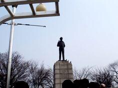 인천 자유공원 맥아더 동상