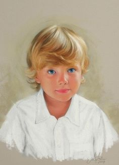 Colorful and realistic-these portraits just glow! Artist is retiring soon.
