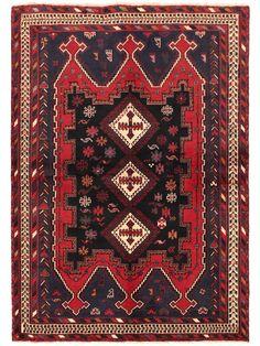 Tapis persans - Afshar  Dimensions:206x148cm