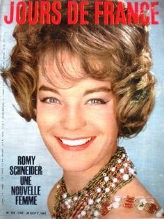 Jours DE France N°359 1961 Romy Schneider Maia Plisetskaia Reza 13MOIS | eBay