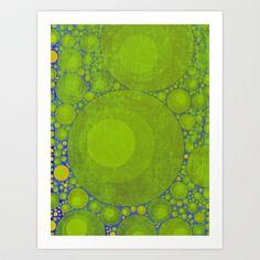 60's Vintage Velvet for iPhone Art Print by V. Sanderson / Chickens in the Trees - $19.00