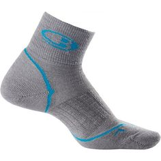 18807df302074 Icebreaker Run Light Cushion Mini Socks - Merino Wool, Quarter-Crew (For  Women
