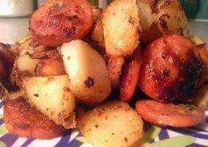 potatoe and sausage Recipe -  Are you ready to cook? Let's try to make potatoe and sausage in your home!