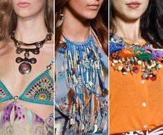 Spring/ Summer 2015 Jewelry Trends: Hippie Jewelry  #accessories #jewelry #jewelrytrends