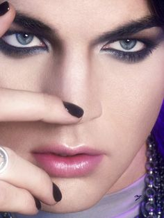 Adam Lambert, the Eyes......do it to me everytime.