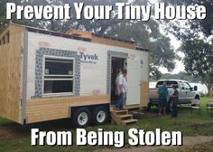 Yesterday you might have heard about a tiny house on wheels being stolen from someone's property. Fortunately, Casey found the house last night. And I'm so happy that he did. But now I just don't w...
