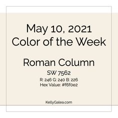 Your Color of the Week and energy reading for the week of May 10, 2021. What makes something special? Get ready for A Special Day.