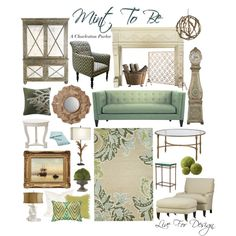 """""""Mint To Be"""" by livefordesign on Polyvore"""