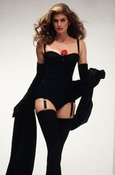 lovelyritablog:  Dolce & Gabbana Spring/Summer 1992, Cindy Crawford