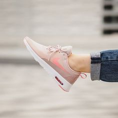 The Nike Air Max Thea Pink Oxford is sweet like strawberries and cream. Have a closer look at this pair now on hypebae.com. Photo: Afew Store