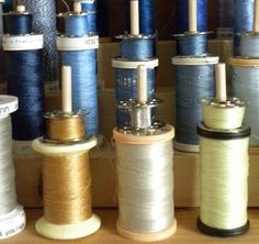 Idea for spools of thread and bobbins -- project.