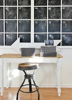Window+Chalkboard