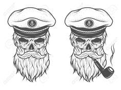 skull beard - Pesquisa Google