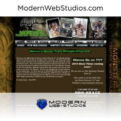 Hunting Website. To learn more visit us at http://modernwebstudios.com/