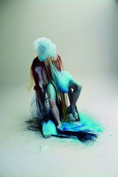 Stylist Alister Mackie collaborates with avant-garde artists Lucy McRae and Bart…