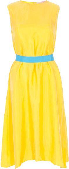 Roksanda Ilincic Yellow Dress