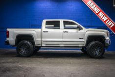 2014 GMC Sierra 1500 SLT All Terrain 4x4 With a New Lift Wheel And Tire Package Installed and For Sale At Northwest Motorsport