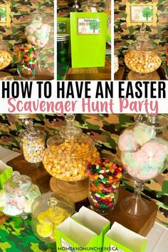 Host a fun filled Easter Scavenger Hunt Party for kids with these colorful Easter treats and printables! From Scavenger Hunt games to delicious Easter treats, kids will definitely have a great time at your Easter party. Check out these adorable Easter ideas now. How To Have An Easter Scavenger Hunt Party  #EasterPartyIdeasForKids #EasterScavengerHuntParty