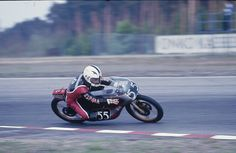 1976. Spain's Angel Nieto amassed a superb career CV: six 50cc world crowns and seven 125cc titles... Michelin had already come close to clinching a clean sweep by triumphing in four of the five classes (in addition to the Formula 750 title, which did not carry the 'World Championship' tag). A year later, the manufacturer completed the job with Angel Nieto, Pier Paolo Bianchi, Mario Lega, Takazumi Katayama, Barry Sheene and a team of dedicated tyre technicians. #michelin