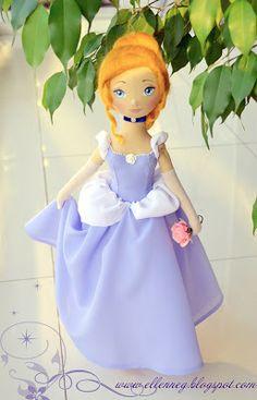 Fantasia boneca Coleção: fada personagem de conto