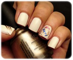 I definitely want to get my nails like this one day   real madrid nail art - Google Search