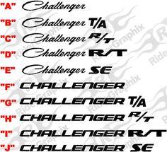 dodge challenger logo