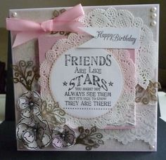 Used various companies products - Flowers and MDF plaque are Dreamees. Sentiment stamps are Crafters Companion and Inlylicious
