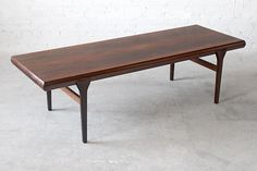 Johannes Andersen (attrib.) Rosewood Coffee Table - Click for more images