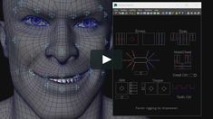 The facial rig used skin cluster node working with blendshapes node. Skin Mapping, Maya, Stunt Woman, Character Rigging, 3d Face, 3d Tutorial, Blender 3d, Action Poses, Simple Shapes
