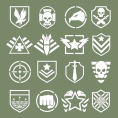 Military logos of special forces - Graphics