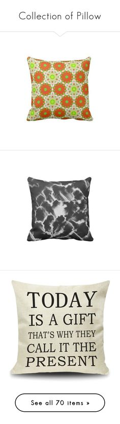 """""""Collection of Pillow"""" by ziernor ❤ liked on Polyvore featuring home, home decor, throw pillows, quote throw pillows, pillow, textured throw pillows, plaid home decor, black white home decor, black and white accent pillows and tartan throw pillows"""
