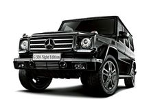 Image of Mercedes-Benz G550 Night Edition Japan Exclusive