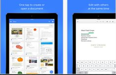 Google Released Two New Updates to iPad Google Drive Apps ~ Educational Technology and Mobile Learning