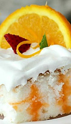 Orange Angel Cake