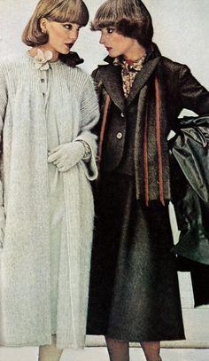 Vogue 1975 | vintage evening jackets & winter coats