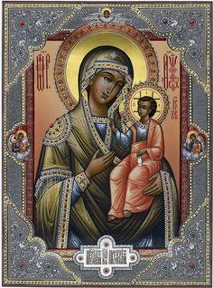 Иверская Богородица. 30х40 см. Цыбин В.Е. 2013 г