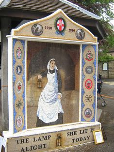 Well Dressing  Florence Nightingale
