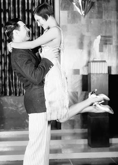 Joan Crawford and Johnny Mack Brown in a publicity photo for Our Dancing Daughters (Harry Beaumont, 1928)