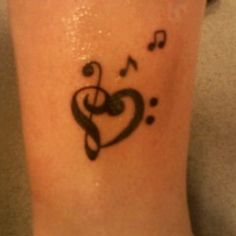 music is like a tattoo on my heart <3