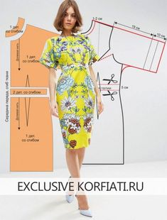 Sewing - Make Your Own Clothes Fashion Sewing, Diy Fashion, Fashion Dresses, Dress Sewing Patterns, Clothing Patterns, Women's Clothing, Simple Dresses, Summer Dresses, Make Your Own Clothes