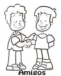 Dibujos Del Valor De Compartir Para Colorear Infantil Busca De