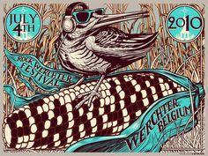 Pearl Jam Posters, Illustration, Design, Music