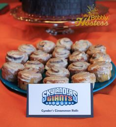 Skylanders Birthday Party Food Ideas | The Bubbly Hostess