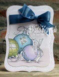 Mama Dini's Stamperia: Ornament Trio