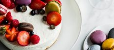 Sitruunajuustokakku | Makeat leivonnaiset | Reseptit – K-Ruoka Panna Cotta, Cheesecake, Strawberry, Sweets, Baking, Fruit, Ethnic Recipes, Food, Public