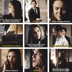 DELENA is the answer. No ifs, buts or maybes. - The Vampire Diaires